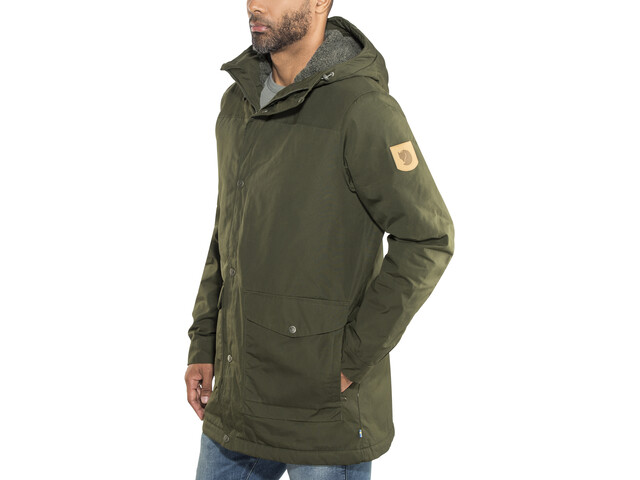 the latest f9803 ae1e5 Fjällräven Greenland Winter Parka Herren deep forest